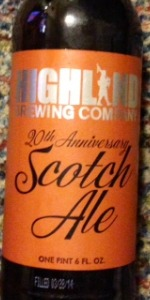 20th Anniversary Scotch Ale