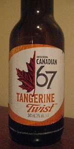 Molson Canadian 67 Tangerine Twist