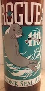Monk Seal Ale