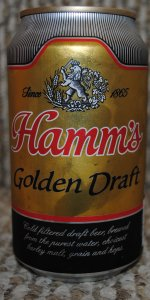 Hamm's Golden Draft