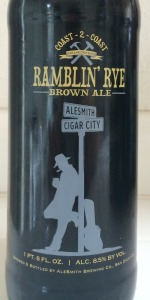AleSmith / Cigar City Ramblin' Rye