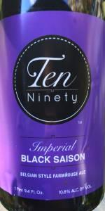 Ten Ninety / Pollyanna Imperial Black Saison