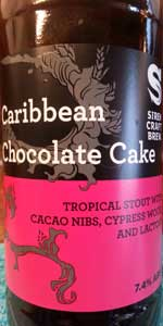 Siren / Cigar City Caribbean Chocolate Cake