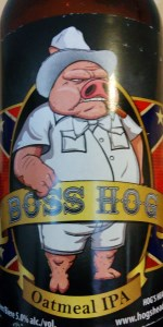 Boss Hog Oatmeal IPA