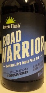 Road Warrior Imperial Rye India Pale Ale