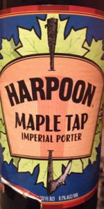 Maple Tap Imperial Maple Porter