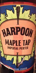 Maple Tap Imperial Maple Porter