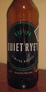 Quiet Rye't