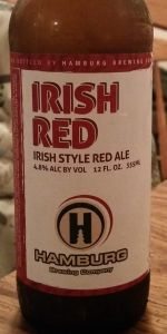 irish red hamburg brewing company beeradvocate. Black Bedroom Furniture Sets. Home Design Ideas