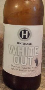 Bourbon Barrel Whiteout Imperial IPA