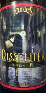 Founders Dissenter Imperial India Pale Lager