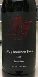 Zaftig Bourbon Stout