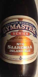 Anchor Zymaster Series No. 6: Saaremaa Island Ale