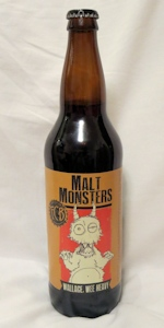 Malt Monsters: Wallace, Wee Heavy