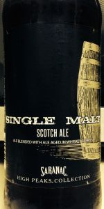 Saranac Single Malt Whiskey Barrel-Aged Scotch Ale