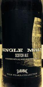 Saranac Single Malt Whiskey Barrel-Aged Scotch Ale