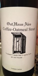 Out.Haus Ales Coffee-Oatmeal Stout