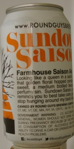 Sundown Saison