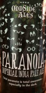 Paranoia Imperial India Pale Ale