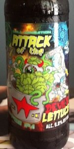Attack Of The Devil's Lettuce Coffee IPA