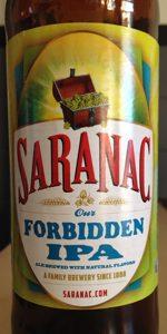 Saranac Forbidden IPA
