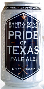 Pride Of Texas Pale Ale