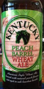 Peach Barrel Wheat Ale