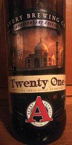 Avery Anniversary Ale - Twenty One