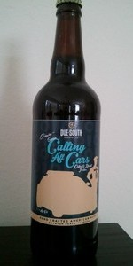Calling All Cars - Coffee Donut Porter