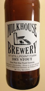 Coppermine Creek Dry Stout