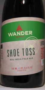 Shoe Toss Rye IPA