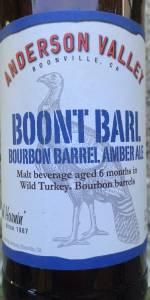 Boont Barl Bourbon Barrel Amber Ale