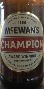 McEwan's No.1 Champion