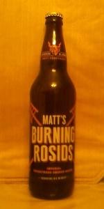 Matt's Burning Rosids Imperial Cherrywood-smoked Saison