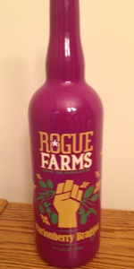 Rogue Farms Marionberry Braggot