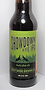 Showdown Rye IPA
