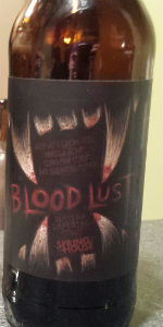Blood Lust (Bourbon Barrel, Cacao Nibs, Habaneros, Cinnamon, Vanilla Beans)