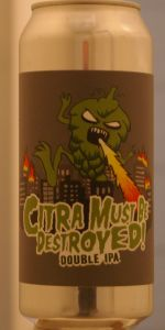 Citra Must Be Destroyed! Double IPA