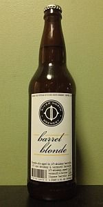 Barrel Blonde