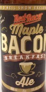 Red Racer Maple Bacon Breakfast Ale