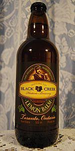 Black Creek Lemon Balm Ale