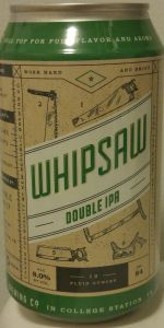 Whipsaw Double IPA