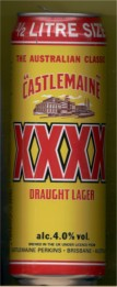 Castlemaine XXXX Draught Lager