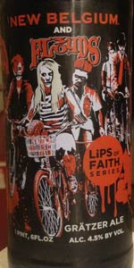 New Belgium / 3 Floyds - Lips Of Faith - Grätzer