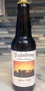 Kuhnhenn Solstice Stout