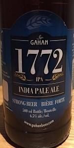 1772 India Pale Ale