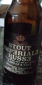 Stout Imperiale Russe (Bourbon Vanilla & Cafe)