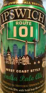 Ipswich Route 101 West Coast Style India Pale Ale