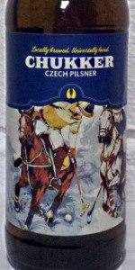 Chukker Czech Pilsner