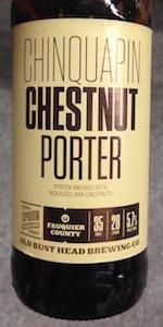 Chinquapin Chestnut Porter
